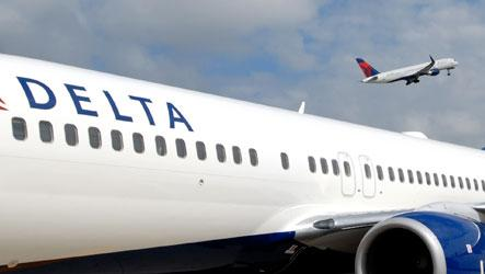 A Delta Air Lines unit plans to cut more than 400 workers at  Minneapolis-St. Paul International Airport this week. About 100 employees moved to jobs in other cities; the rest joined a competitor.