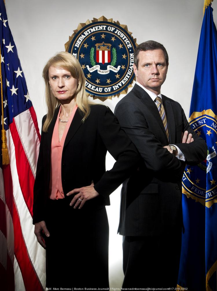Lucia M. Ziobro and Vincent B. Lisi are both special agents in charge of the Boston division at the U.S. Department of Justice Federal Bureau of Investigation. Ziobro wrote an op-ed warning local businesses about venture capitalist scams.