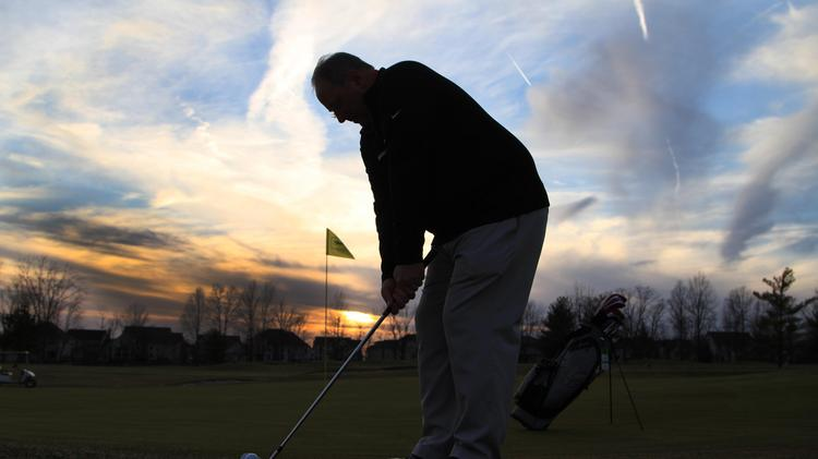 Ray Finnearty, New Era Golf Group, at Shamrock Golf Club in Dublin. The course is in contract with a homebuilder who would turn it into a residential development.