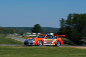 A photo from GT3 Cup race at Virginia International Raceway in September.