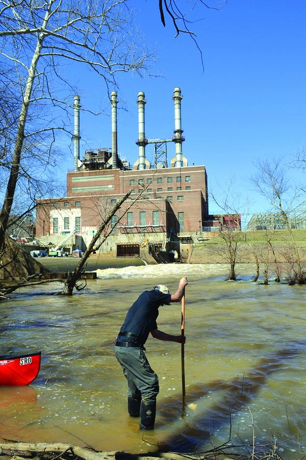 Brian Williams, Dan River Steam plant, coal ash spill, Duke Energy, Eden