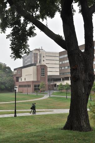 The Rensselaer Polytechnic Institute campus in Troy, NY