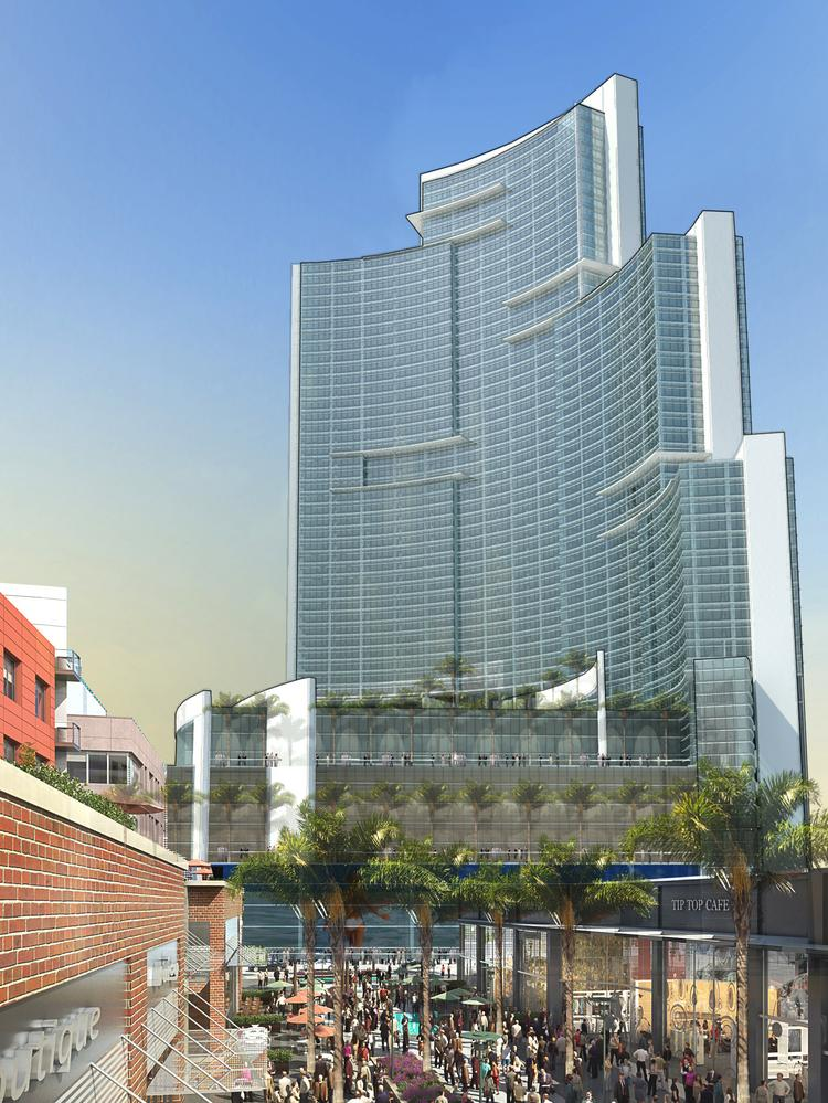 MDM Group plans to build a large Marriott Marquis hotel and convention center on the Miami Worldcenter site in downtown Miami.