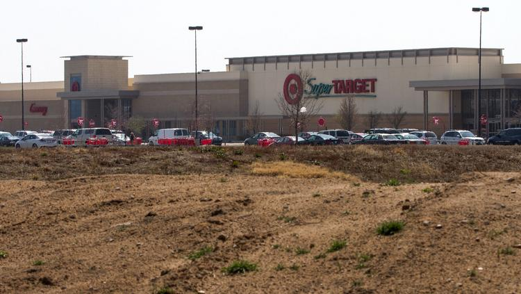 A new $1 million strip center will be added to NewMarket Square in front of Target and next to Intrust Bank.