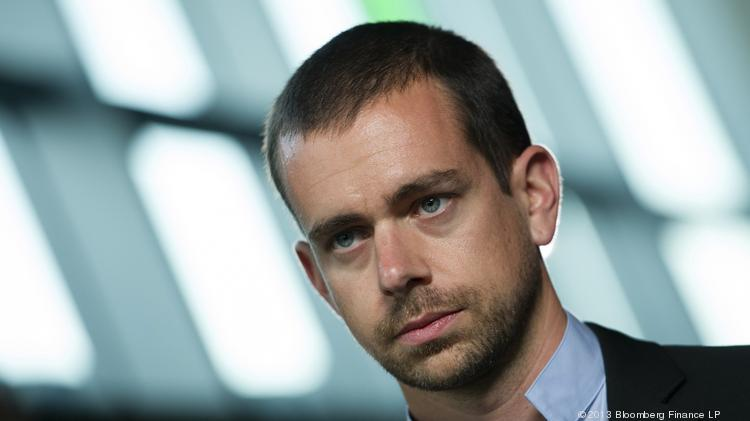 Jack Dorsey, co-founder of Twitter and founder and CEO of Square.