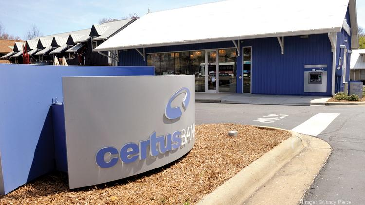 CertusBank's branch on Sharon Road is one of 38 offices across the Carolinas, Georgia and northern Florida.