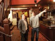 Brian Sheehy (left) and Doug Balton plan to revive a shuttered bar into a high-end cocktail bar on Shattuck Avenue.