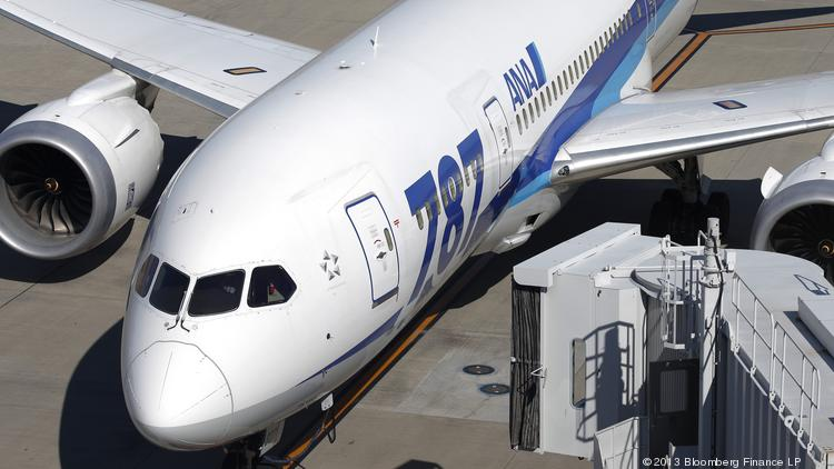 All Nippon Airways uses the Boeing 787 Dreamliner to fly from Tokyo to San Jose, California—the heart of Silicon Valley.
