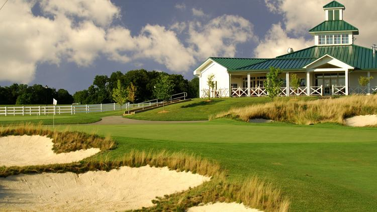 Hole No. 9 at Chariot Run Golf Course. The course at Horseshoe Southern Indiana has been recognized by Golfweek magazine.