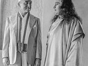 Kansas City multimillionaire James J. Lynn (left) is pictured in 1938 with his guru, Paramahansa Yogananda. Lynn's life was transformed after he met Yogananda during a 1932 lecture in Kansas City.