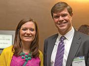 Jessica Neumer, geographic marketing manager, EY; Steve Tozier, credits and incentives leader, EY.