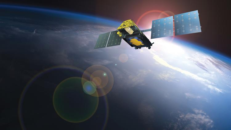 More customers signed up for satellite services from Iridium Communications Inc. last quarter, boosting the McLean company's sales and earnings.