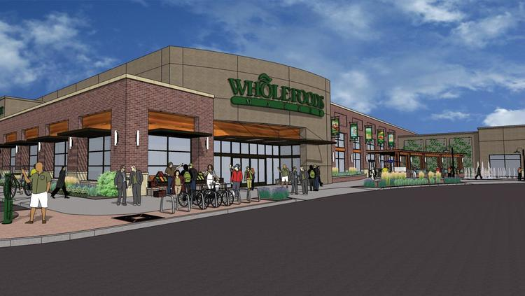 Wichita's Whole Foods Market Inc. store is a part of the Waterfront Plaza development.