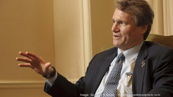 "Bank of America CEO Brian Moynihan, reflecting on all the issues his bank has tackled in recent years, said, ""Our legacy will be built on what we do next, not what we did last year."""