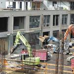 Building boom begins to slow down