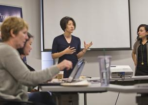 Ari Horie, a veteran of IBM and several smaller Silicon Valley startups, is helping would-be women entrepreneurs launch and scale companies through her Women's Startup Lab in Menlo Park.