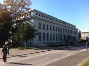 The Bancroft Library, which houses rare and unusual collections.
