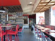 The interior of Arby's restaurant after a remodel. The restaurant company is rolling out its new look in Alabama first.
