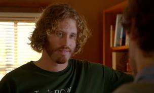 T.J. Miller plays the hapless incubator founder Erlich in Silicon Valley.