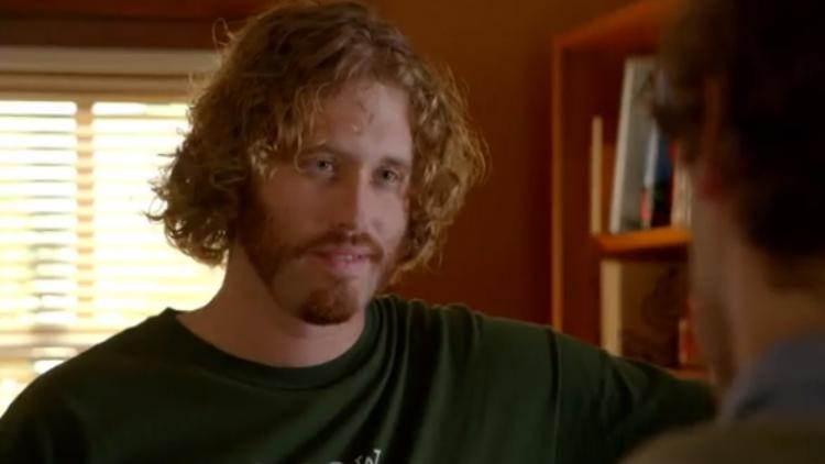 """T.J. Miller plays Erlich, who administers a tech incubator in """"Silicon Valley."""""""