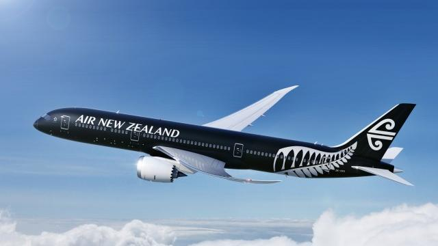Here's one version of Air New Zealand's new design.