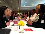 More than 250 women gathered this morning for the first-ever Bizwomen Mentoring Monday event at the Memphis Botanic Garden. The event featured five-minute, one-on-one speed-coaching sessions with more than 40 of the most influential women in the Memphis business community.