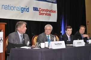 Power Breakfast, real estate, panelists:  David Buicko, Galesi Group; Joe Nicolla, Columbia Development; Uri Kaufman, The Harmony Group; and Dean DeVito, Prime Cos.