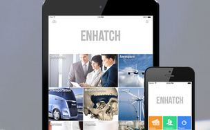 Enhatch's mobile platform is aimed as a customer-relationship management tool for startups during that challenging process of raising money from investors.