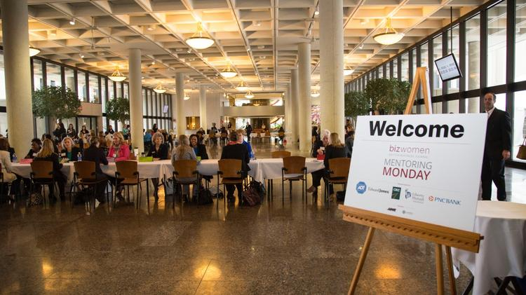 More than 40 mentors, a who's who of some of the most influential women in Dayton, were available to connect to other aspiring future leaders during a speed-networking session.