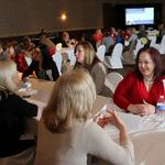 Hundreds of women connect at Courier's first-ever Mentoring Monday
