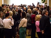 Nearly 400 people attended Triangle Business Journal's 2014 Women in Business Awards.