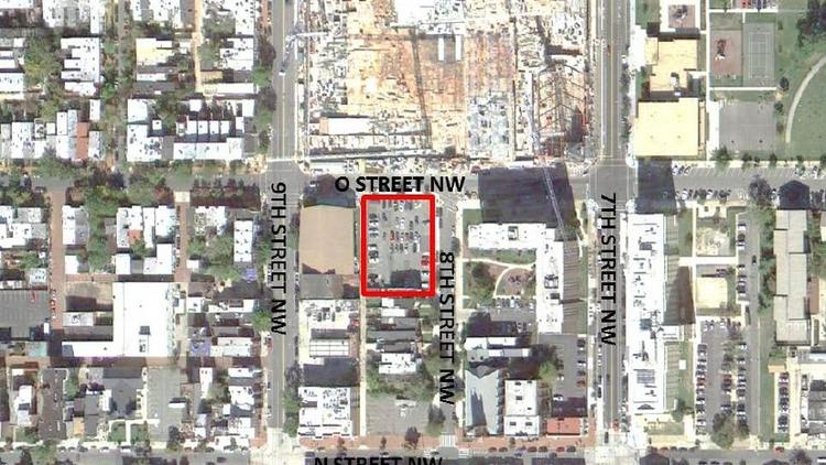 The District has received responses from six teams interested in redeveloping a 13,000-square-foot parcel at Eighth and O streets NW.