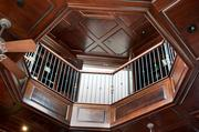 Grand Gables at Kings Gate features an interior balcony.