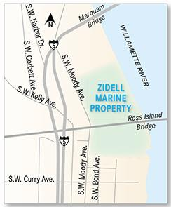 Nike Inc. considered expanding to the Zidell Marine property on Portland's South Waterfront. It instead chose to expand in Washington County adjacent to its current headquarters.