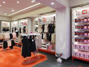 Interior of a Spanx store.