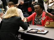 Women networked and learned during the first Bizwomen Mentoring Monday event in Jacksonville