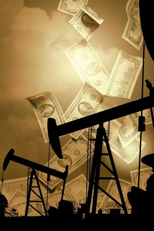 THINKSTOCK Oil Money Well Stock