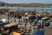 "Woody's on the Wharf (Santa Cruz) When: June 22 Where: Santa Cruz Wharf What: A celebration of the spirit and the classic surf wagons with wood panel bodies. Over 175 of these pre-1950's ""woodies"" will line the wharf. Estimated attendance: 5,000 Economic impact: Not available"