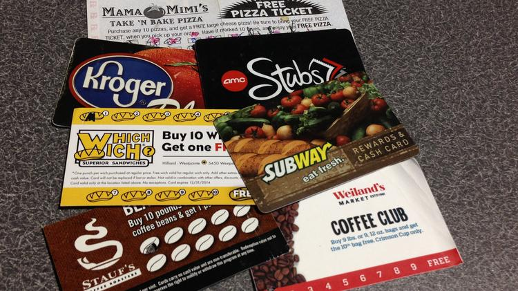 Many retailers and restaurants offer loyalty cards, but not the major fast-food chains.