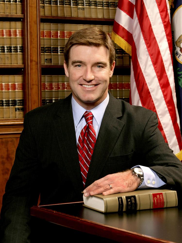 Kentucky's Department of Agriculture Commissioner James Comer and Kentucky Attorney General Jack Conway, above, are drafting regulations to administer seven pilot programs at Kentucky universities to cultivate hemp.
