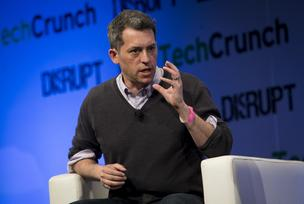 Jim Bankoff, chairman and chief executive officer of Vox Media, speaks during the TechCrunch Disrupt NYC 2013 conference in New York, U.S., on Monday, April 29, 2013.