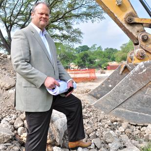 Phil Bakke is turning dirt on Urban Crest, a new multifamily community on the Northeast Side.