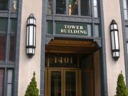 Built in 1929, the Tower Building was D.C.'s first art deco building and was listed on the National Register of Historic Places in 1995.