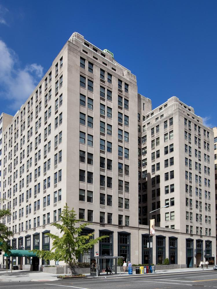 first potomac realty trust has acquired the tower building at 1401 k st nw art deco office building