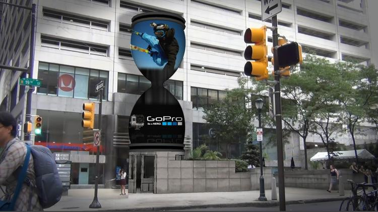 Here's an ad you might see in the future as you walk down Market St.