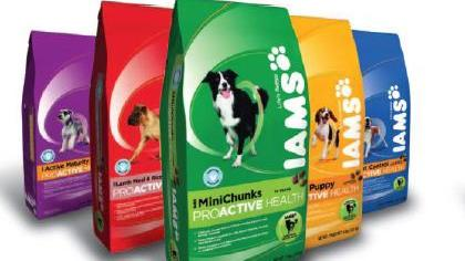 Procter & Gamble will shed Iams as part of the $3 billion sale of its pet food business to Mars.