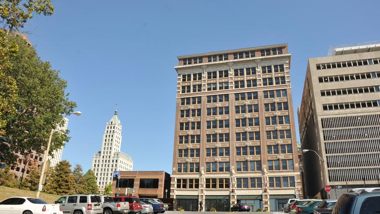 The Falls Building in Downtown Memphis