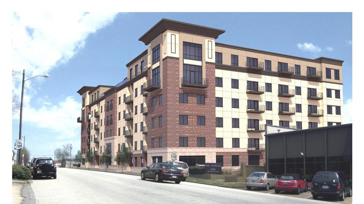 Iron City Lofts is a 106-apartment project planned for the Lakeview District.