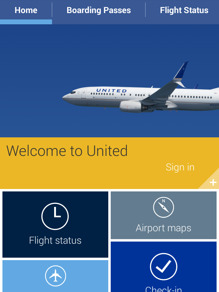 United Airlines New App For Android Platform Chicago Business Journal