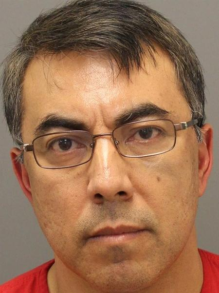 Braulio Castillo is pictured after his arrest in this photo released by the Loudoun County Sheriff's Department.